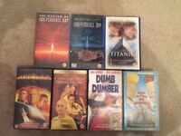 VHS Tapes 7 Films Movies Collection Age 12