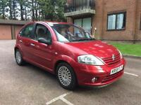 Citroen C3 Exclusive Red Automatic Full Service History