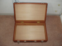 WOODEN CASE AS NEW