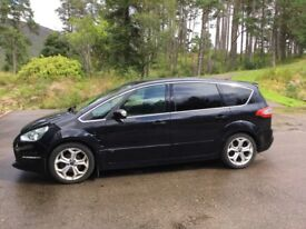 7 Seater Ford S-Max Titanium X Sport 2.2 TDCI with tow bar