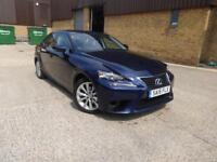 Lexus IS 300h Executive Edition (blue) 2015