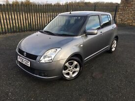 2006 06 SUZUKI SWIFT 1.5 VVTS GLX 5 DOOR HATCHBACK - *ONLY 47,000 MILES!* - ONLY 2 FORMER KEEPERS!