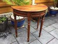 Indian Hardwood Hall Table - Brand New