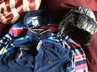 Boys tops and hat 5-6y
