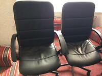 Office chairs x2 good condition £10