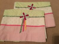 Beautiful Tabtop girls ready made blackout curtains, Excellent condition