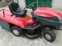 Castlegarden 40 inch ride on mower