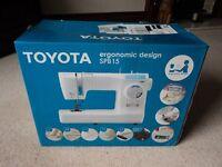 Toyota Ergomatic Design SPB 15 electric sewing machine