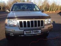 Grand Cherokee Jeep 2.7 Diesel very low milage