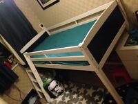 Mid sleeper bed -single- had less than a year