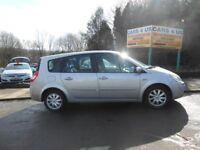 RENAULT G-SCENIC DYN-7VVT MPV 1.6CC PETROL ONLY ONE OWNER COMES WITH FULL 12 M-O-T DRIVE VERY NICE .