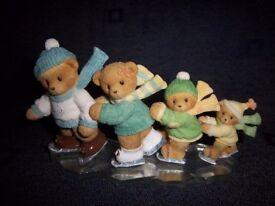 Cherished Teddies - Let the Winter Fun Begin Ornament IP1
