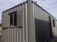 FOR SALE 24 x 9ft Anti Vandal Site Office / Canteen / Portable Building/ MORE UNITS AVAILABLE /
