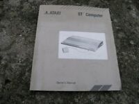 Atari ST Owners Owners Manual Weymouth Free Local Delivery