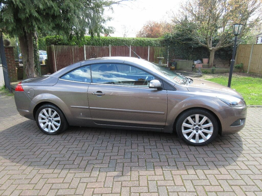 2008 ford focus convertible 2 0 diesel 2dr in metallic bronze in bilborough nottinghamshire. Black Bedroom Furniture Sets. Home Design Ideas