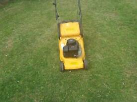 McCullough lawn mower with Briggs and stratton engine