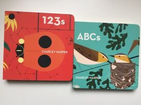 Charley Harper ABCs and 123s Board Books
