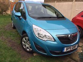 Vauxhall Meriva 2011 - Blue.