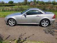 2001 Mercedes SLK-Class 200 KOMPRESSOR AUTO FSH 1yrs Mot 6mth warranty