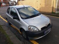 1.0 toyota yaris 2002 year petrol manual 153000 miles mot 17/09/17 history drives good