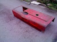international tractor bonnet good condition ,slight surface rust