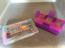 "Loom Twister by HGL Creative Case x 2 including hook tools, ""S"" Clips, Charms, Instructions & Loom"