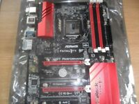 ASROCK FATAL1TY MOTHERBOARD INTEL pc computer board