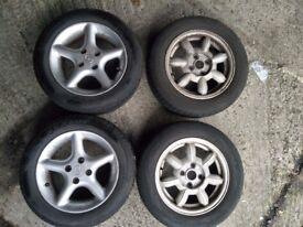 Mazda/ MX5 wheels and tyres