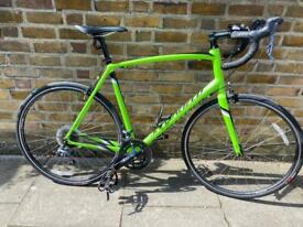 56cm specialized Allez e5 road racer bike/ cannondale boardman carrera giant bicycle