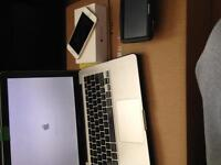 USED MACBOOK PRO, TOMTOM ANS 2 IPHONE 6'S FOR SALE