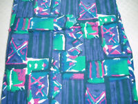Purple/Green/Pink/White Cotton Corduroy Fabric - Never Used