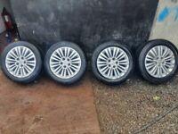 16 inch Vauxhall Zafira & Astra wheels