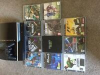 Ps3 with bt controller and 11 games
