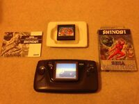 Game gear sega working + 2 games
