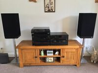 Technics HiFi separates stereo system with speakers
