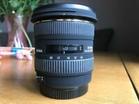 Sigma 10-20mm Ultra Wide DC HSM Autofocus Zoom Lens for Canon EOS