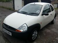 FORD KA 1.2 Well looked after Genuine Milage