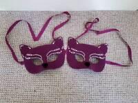 2 x Cat Masks