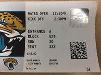 2x NFL Ravens VS Jags Wembley 24/9 2.30pm tickets