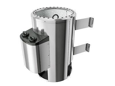 KARIBU Saunaofen 3,6 kW Ofen mit integrierter Steuerung 230 V Saunaheizgerät