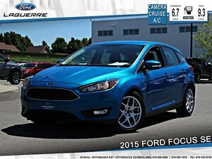 2015 Ford Focus SE**CAMERA*CRUISE*A/C* SIÈGES CHAUFFANTS**