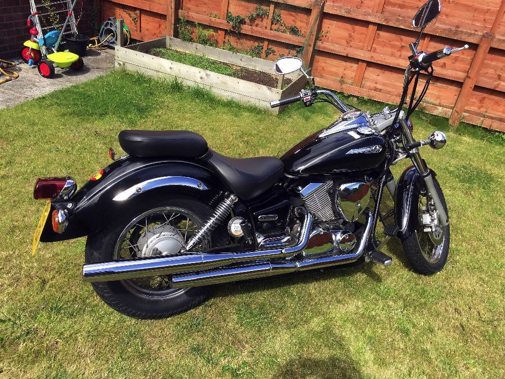 yamaha dragstar xvs 125 for sale very low mileage learner legal in cregagh belfast gumtree. Black Bedroom Furniture Sets. Home Design Ideas