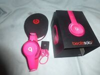 Beats By Dr Dre Solo 2 Wired Headphones-Pink New