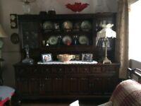Dark Oak, Waring and Gillow Large Dresser