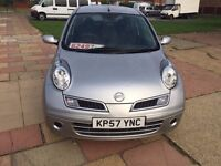 2008 Nissan Micra 1.2L Manual Petrol 71000 Mileage with Bluetooth and cruise control