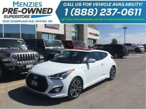 2016 Hyundai Veloster Turbo, Bluetooth, Navi, ONE OWNER, Clean C