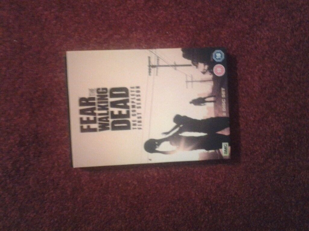 Fear The Walking Dead DVD Collection boxset for sale.