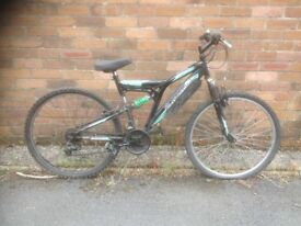 Silverfox Vault. Men's MTB. Fully serviced, fully safe and ready to go