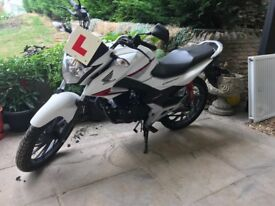 Honda CB125F, 600 miles brand new excellent condition, need to sell soon