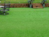 Premium artificial grass end of season sale
